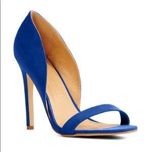 Justfab blue heels